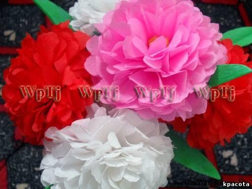 Мастер класс пионы, цветы из бумаги - 12 Февраля 2011 - Блог - Красота