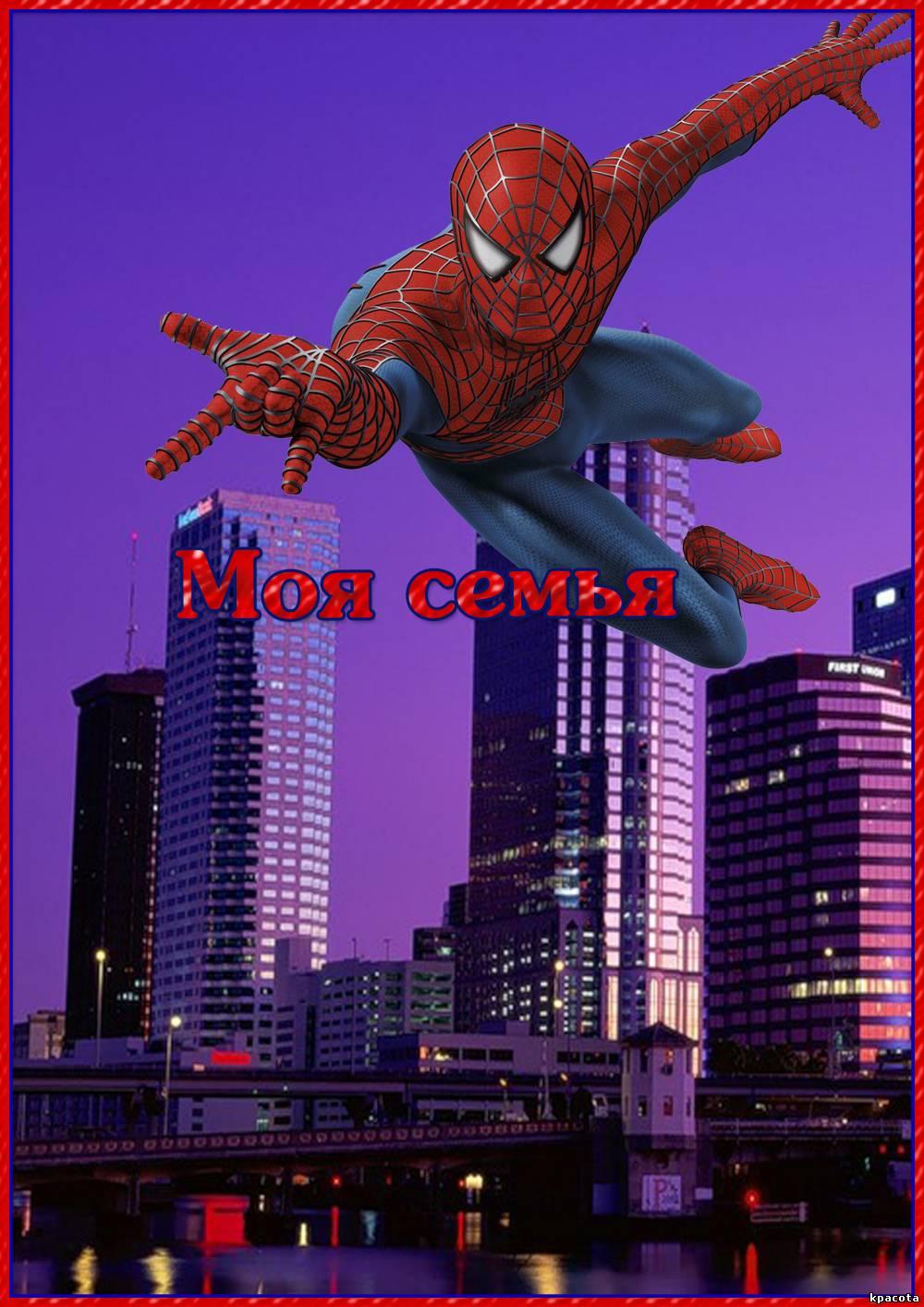 картинки для портфолио человек паук его