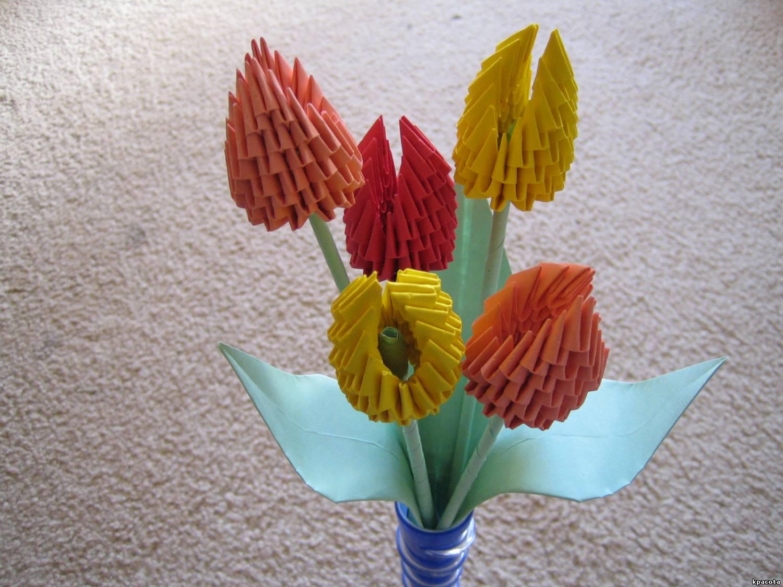 Маме на день рождения оригами